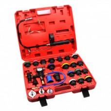 CT-N0133 Набор для проверки герметичности  системы охлаждения 28 предметов Car-Tool CT-N0133