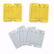 CT-Z011A1 Сменные карточки для дизельного компрессографа  CT-Z011 - 100 шт Car-Tool CT-Z011A1