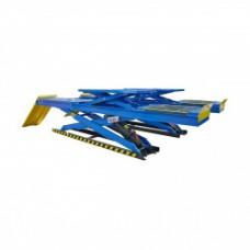 DX-5500A Подъемник ножничный электрогидравлический  PEAK DX-5500A г/п 5,5 тонны, двухуровневый для сход-развала